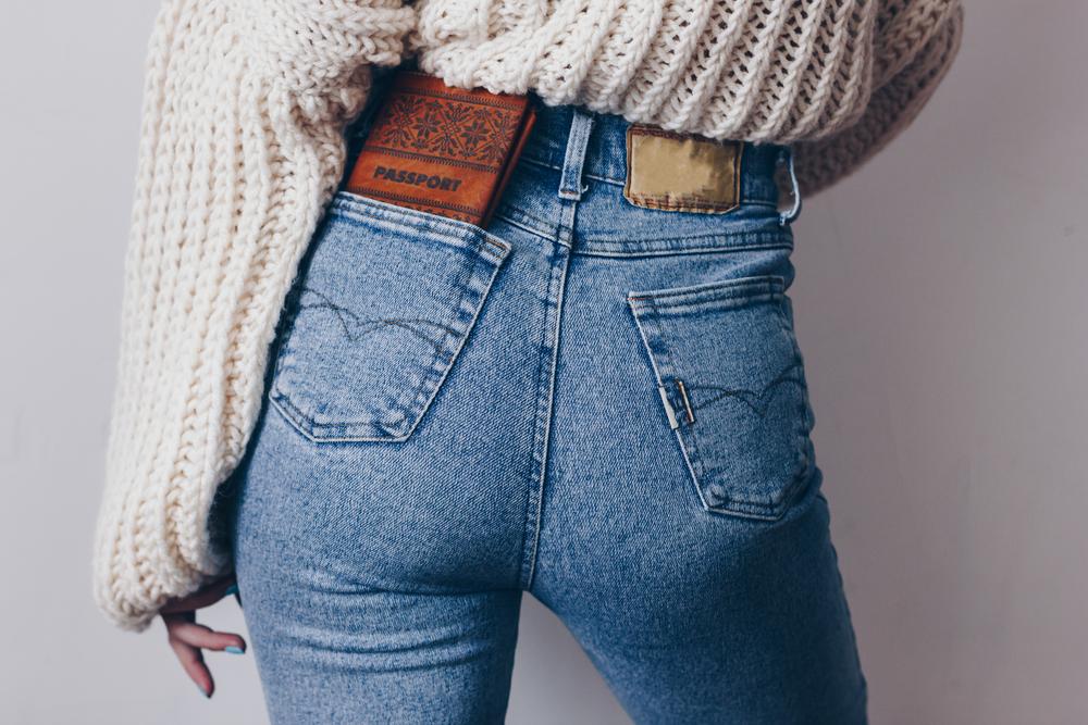 Jeans Tricks für Knackpo