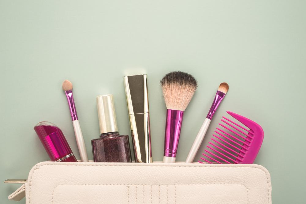 Aufbewahrung von Kosmetik